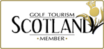 Logo: Golf Tourism Scotland Member