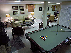 St. Andrew Golf House Pool Table