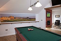 St. Andrews Home Pool Table