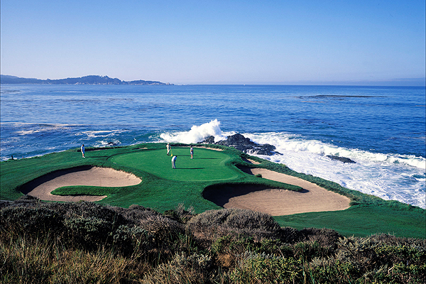 Pebble Beach 8 7 Hole